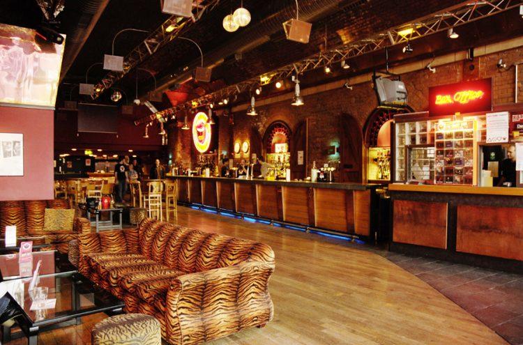 our spacious bar